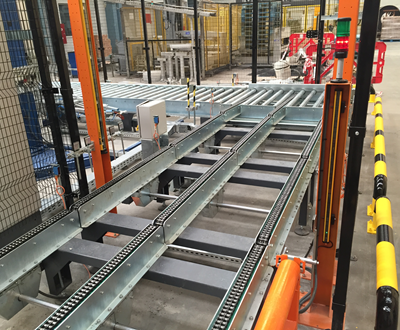 Pallet Conveyors and Elevating Systems